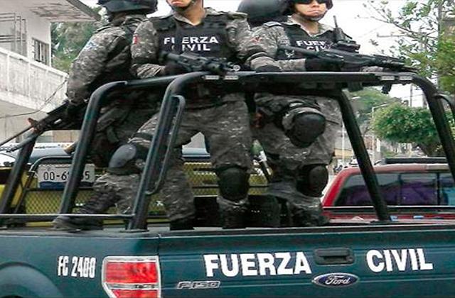 Fuego cruzado entre delincuentes y Fuerza Civil, en Úrsulo Galván