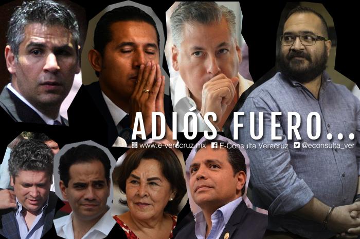 Diputados federales a punto de perder fuero, no tendrían la surte de Duarte