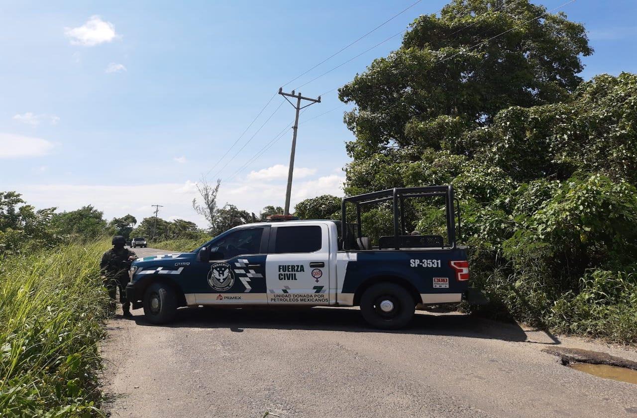 Fuerza Civil abate a 4 presuntos delincuentes, en Texistepec