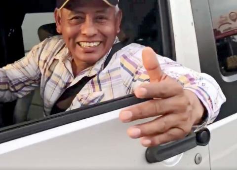 Este es el supuesto espía del Cisen que siguió a Anaya en Veracruz