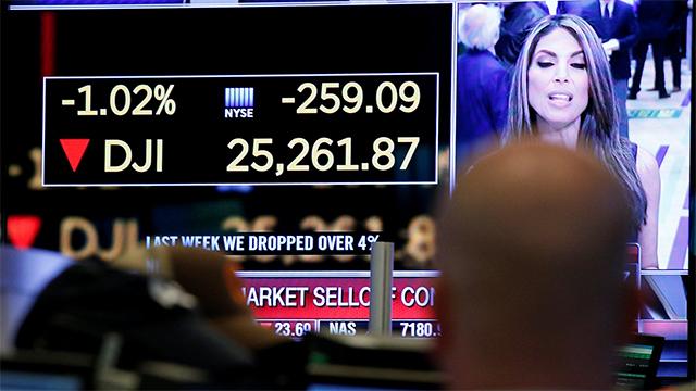 Wall Street se desplomó