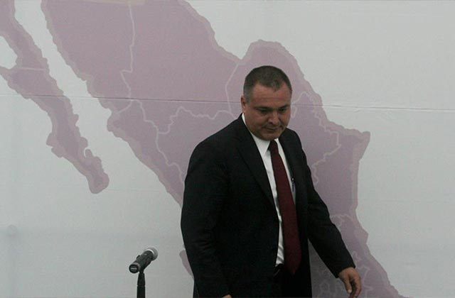 En caótica audiencia, García Luna se declara no culpable