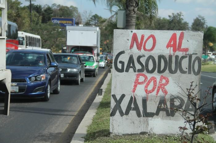 Ciudadanos buscan amparo colectivo contra instalación de gasoducto