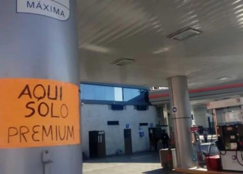 Oposición critica desabasto de gasolina en estados