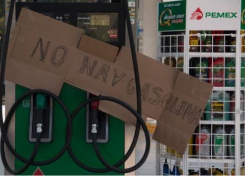 Veracruz con reservas de gasolina para 4 días y medio