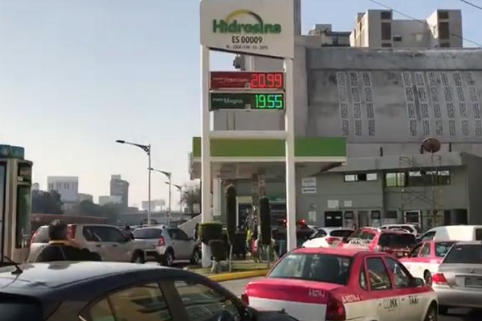 VIDEOS: Así se vive el desabasto de gasolina en la CDMX