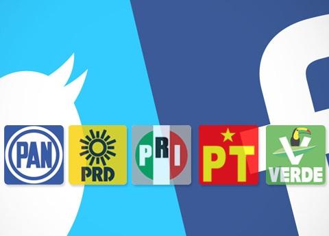 Los partidos políticos en las redes sociales, ¿cuánto gastan?