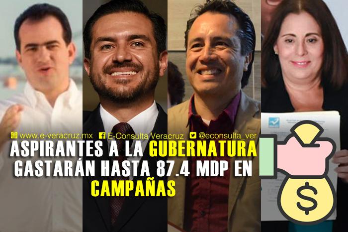Candidatos a gobernador gastarán 350 mdp en campaña