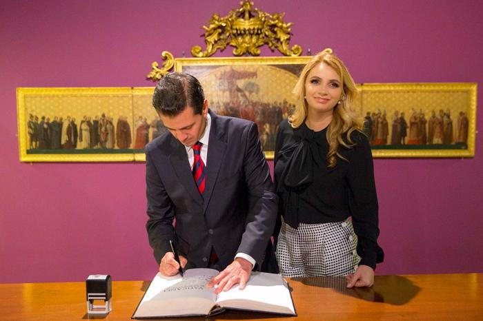 Así agradeció EPN a Angélica Rivera tras legalización de divorcio