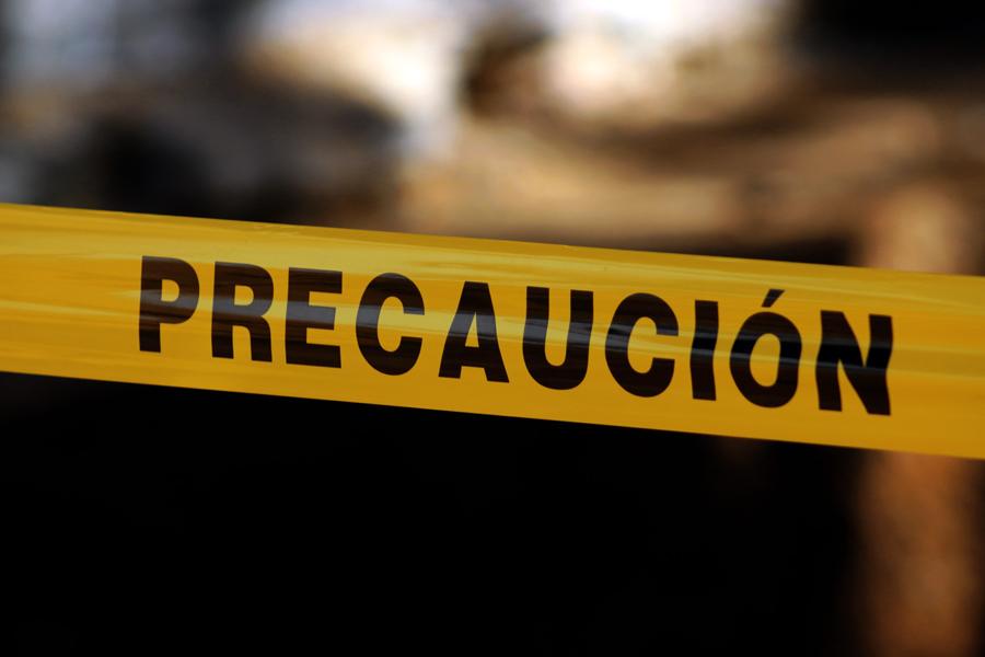 Fuerte choque en Veracruz deja dos prensados