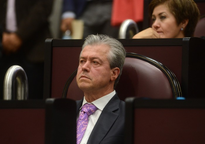 Congreso aprobó séptima licencia a Buganza Salmerón