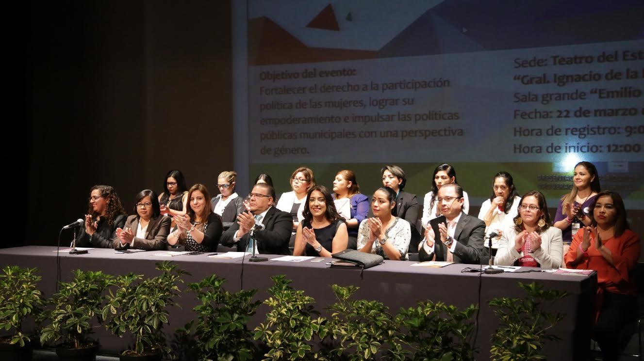 Paridad política es el primer paso para la igualdad de género: Teresita Zuccolotto