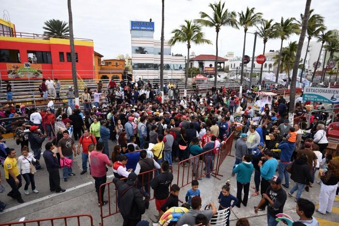 Buscan cambio de concesionaria de gradas para el Carnaval 2017