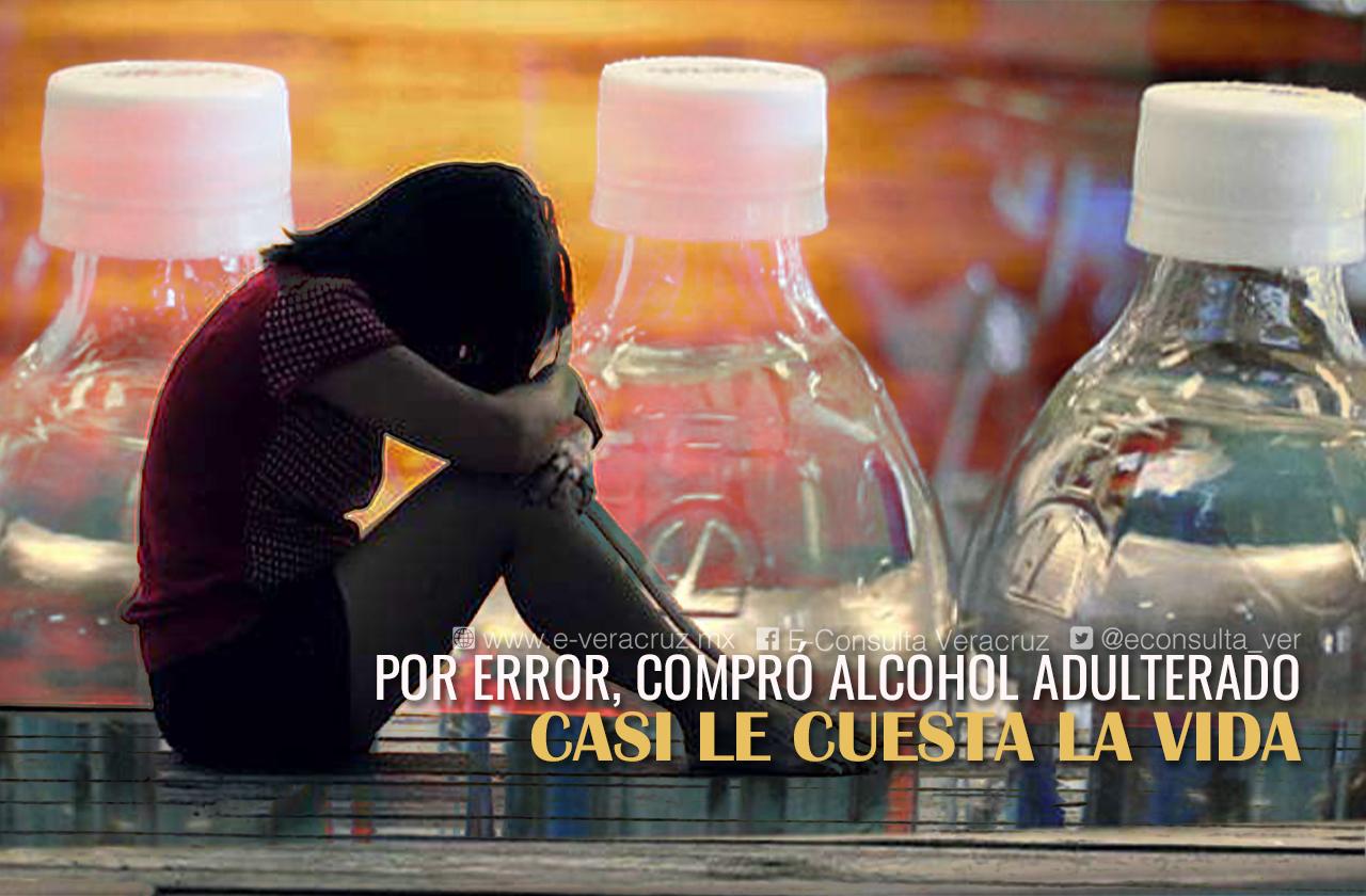 Así fue como Fernanda casi pierde la vida por tomar alcohol adulterado