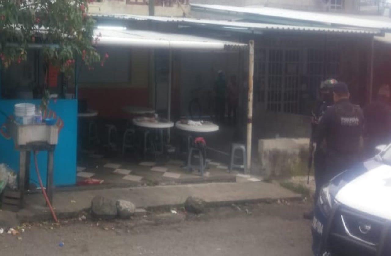 Grave, hombre herido de bala en comedor de Fortín