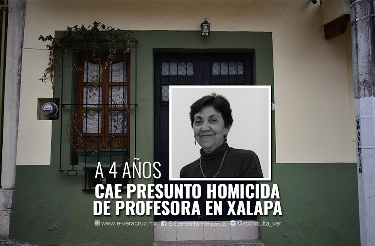 Guadalupe Mora, el asesinato de una profesora que cimbró a Xalapa