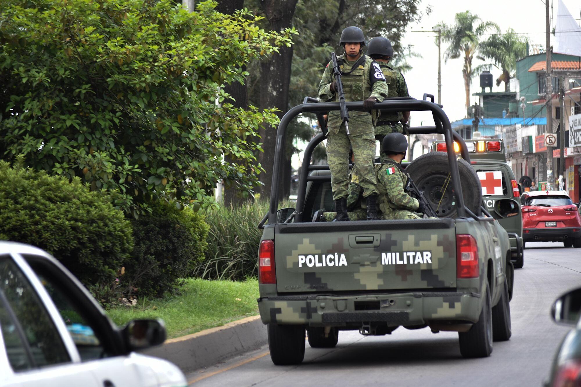Guardia Nacional se despliega contra hueste criminal en Veracruz