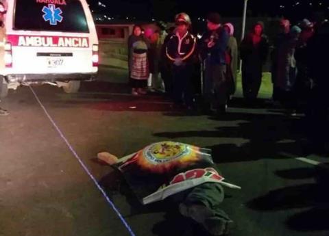 Tráiler atropella a más de 30 personas en Guatemala