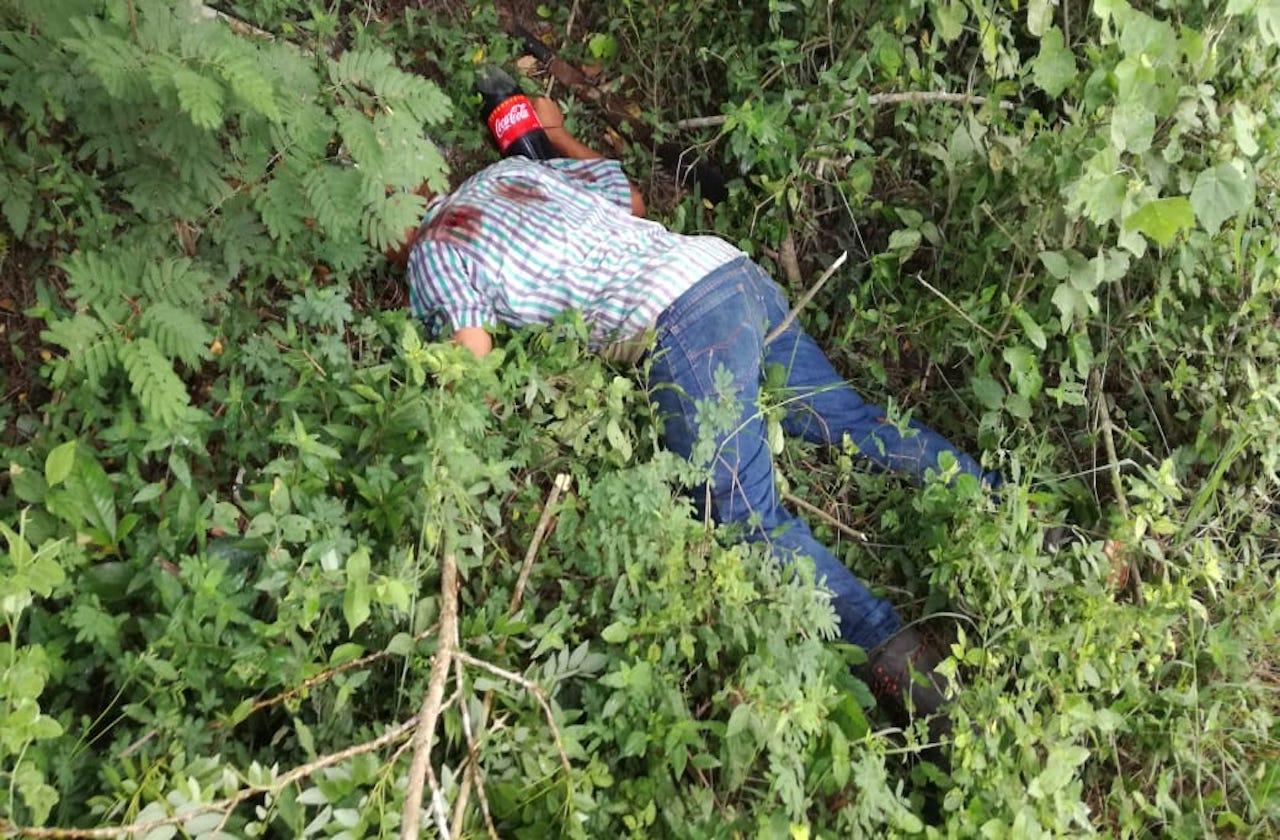 Hallan a hombre sin vida en paraje de Tuxpan
