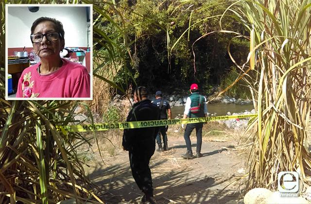Hallan cuerpo de mujer desaparecida en río de Cuitláhuac
