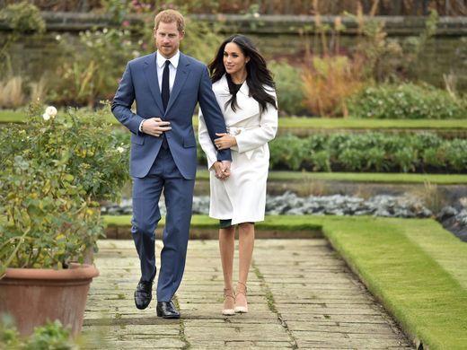 Galería: así anunció el Príncipe Harry su compromiso con Meghan Markle