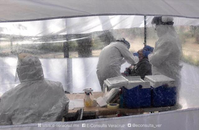Hay 288 casos activos de covid-19 en Veracruz