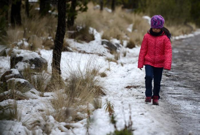 Continuará el ambiente frío, heladas, lloviznas y agua nieve en zonas altas