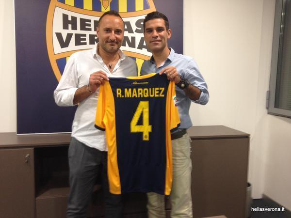 Hellas Verona da la bienvenida a Rafa Márquez