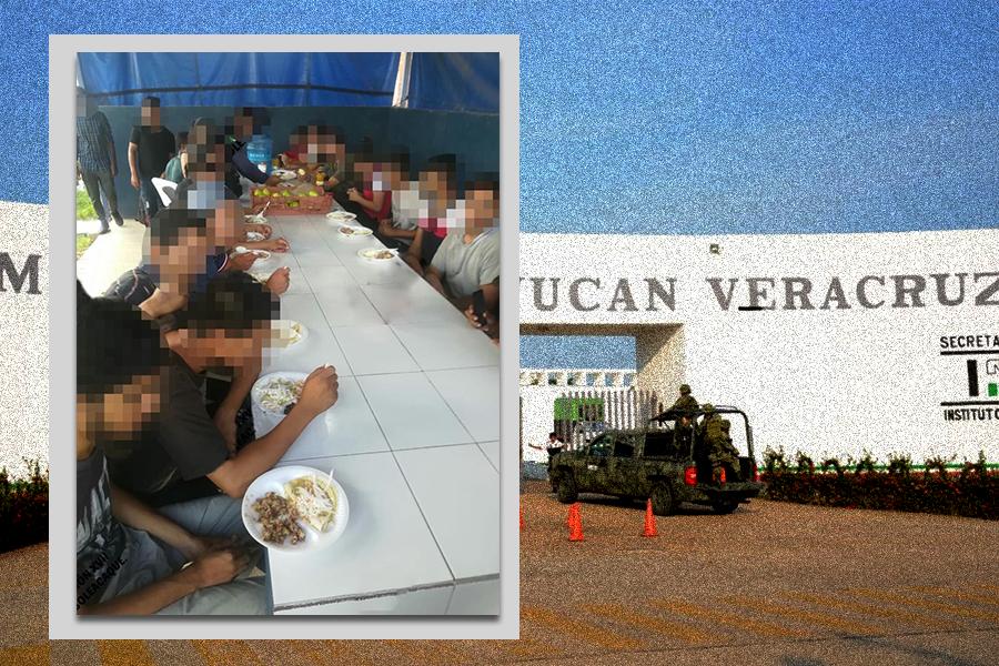 Continua tráfico de personas, aseguran a 30 migrantes de 3 continentes en Minatitlán
