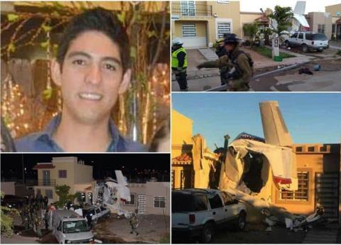 Víctima de avionetazo en Sinaloa era hijo de ex alcalde en Veracruz