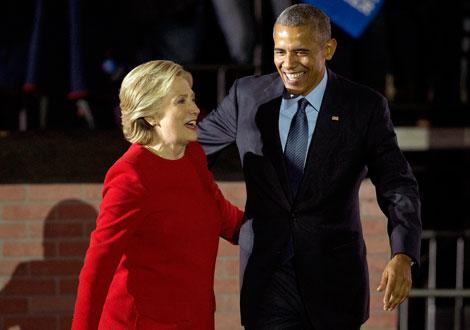 A unas horas, el triunfo de Hillary es casi un hecho