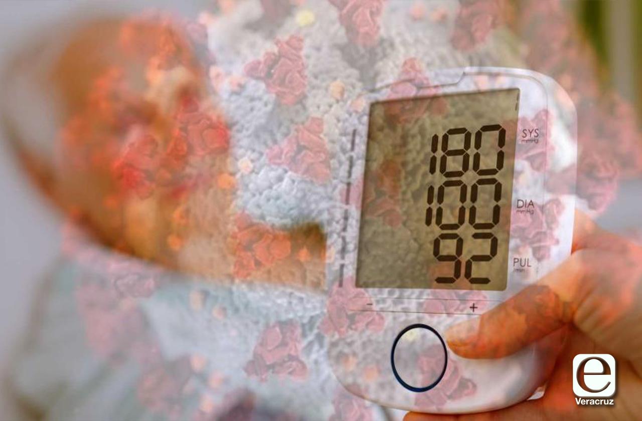 En riesgo por covid casi 20 mil veracruzanos hipertensos