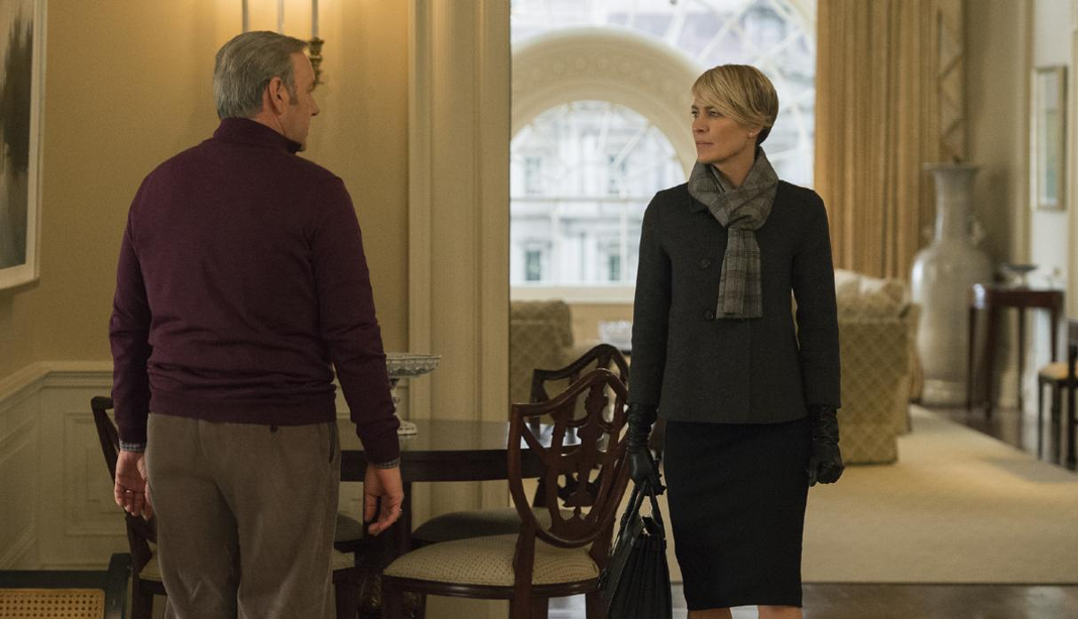 House of Cards sigue en pie, Robin Wright será la nueva estelar