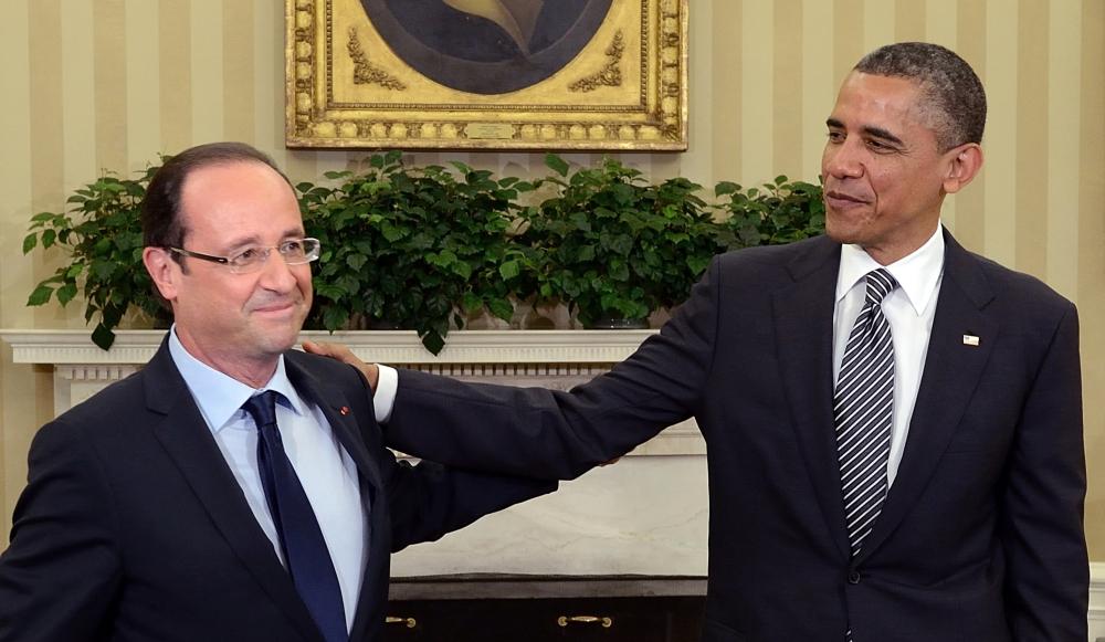 Hollande y Obama planean estrategia conjunta pata atacar a ISIS