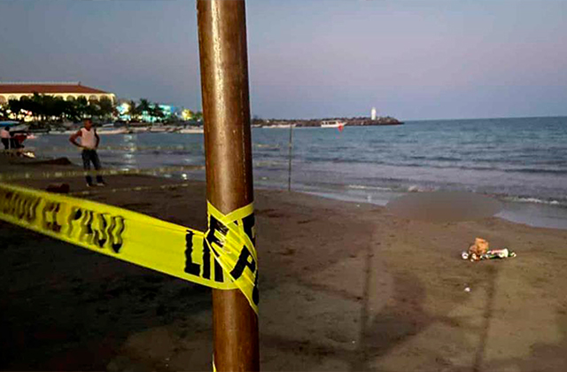Hombre muere ahogado en playas del puerto de Veracruz