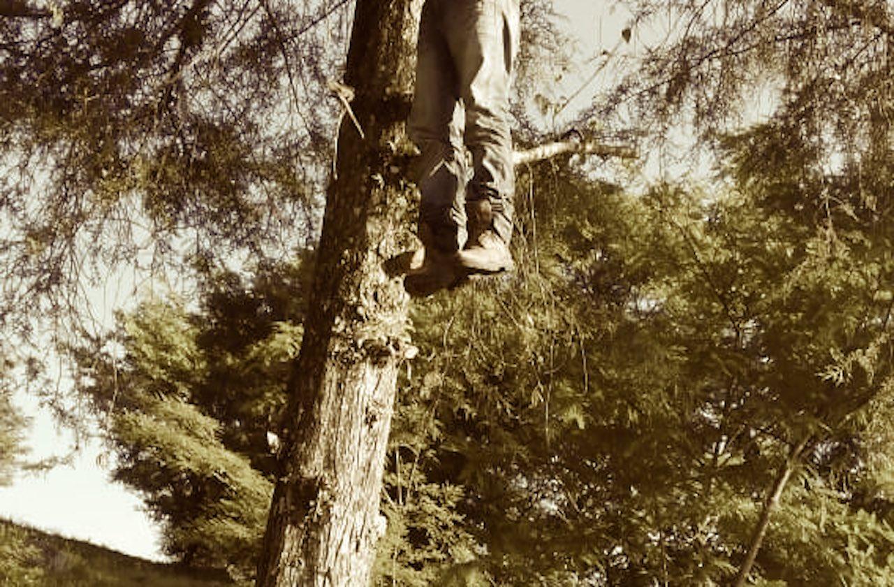 Hombre se suicida colgándose de árbol, en Xico