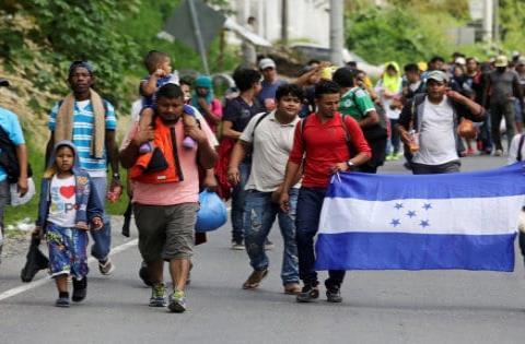 ¿Cómo se originó la caravana de Honduras?