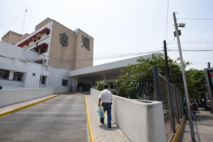 Suficiente agua en el Hospital de Alta Especialidad de Veracruz