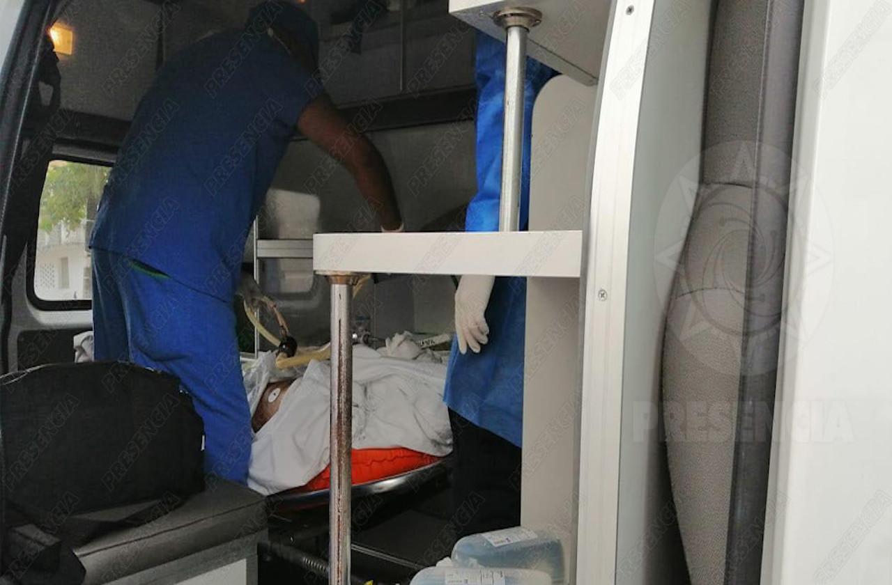 Hospitalizan a menor por quemaduras de cohetes, en Coatza