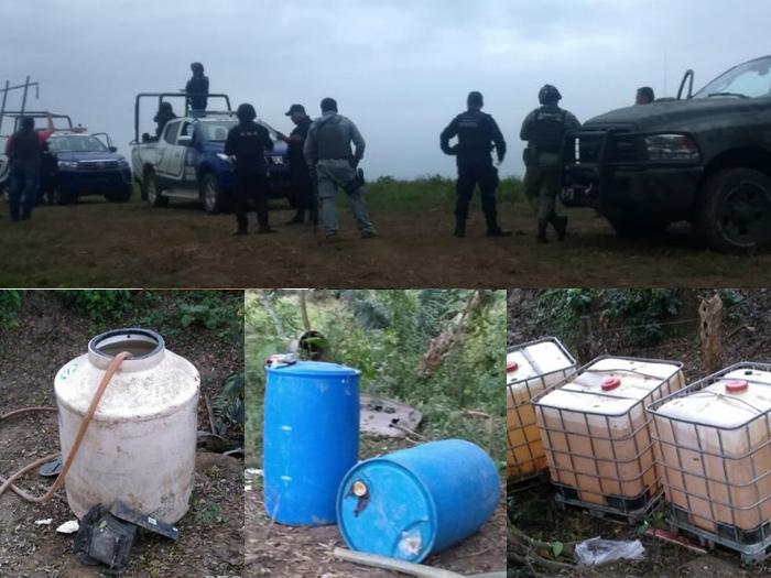 Recuperan 4 mil litros de hidrocarburo robado en San Juan Evangelista