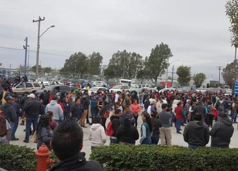 Paro en otras 25 empresas maquiladoras de Matamoros