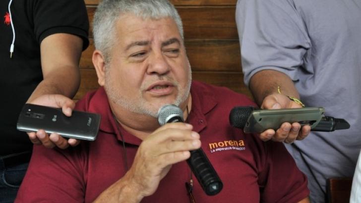 Militantes de Morena en manifestación de Misantla iban a ver a EPN