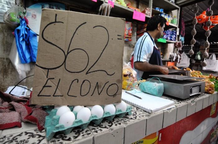 El kilo de huevo no debe pasar de los 40 pesos profeco for Piletas en zona norte para pasar el dia 2015