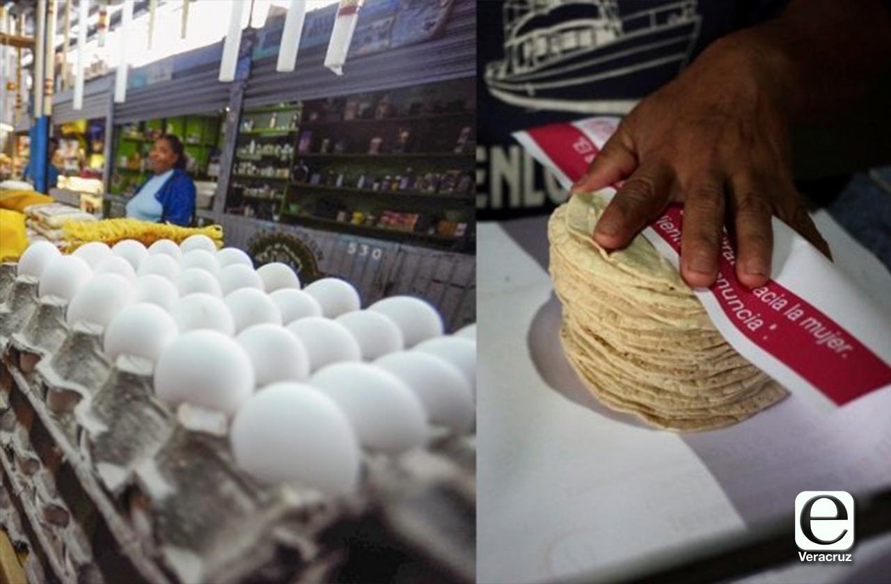 Profeco cerraría negocios que aumenten precios de huevo y tortilla