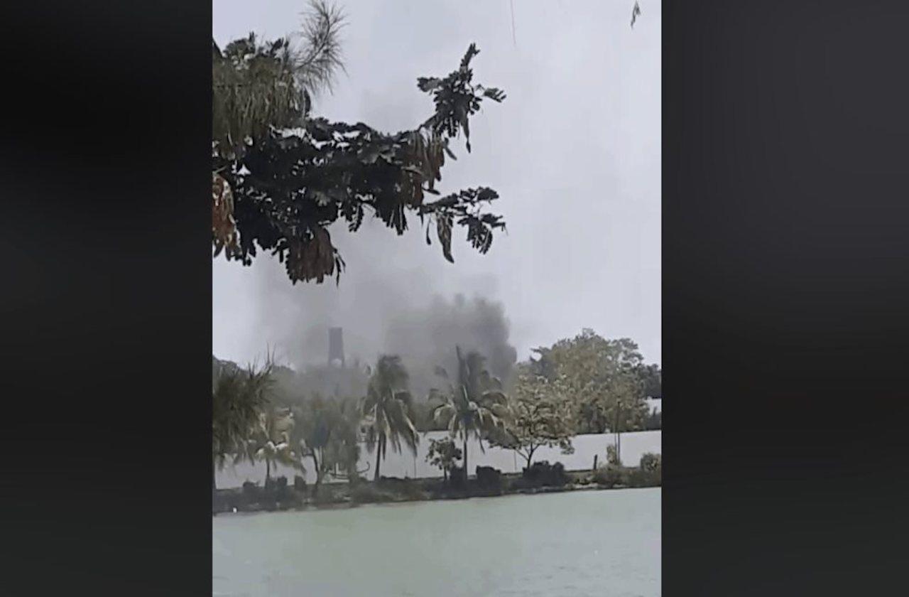 Funeraria del puerto explica exceso de humo en cremación