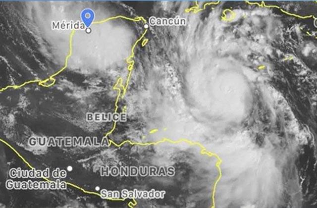 Huracán Delta ya es categoría 4; enciende alerta roja en QRoo