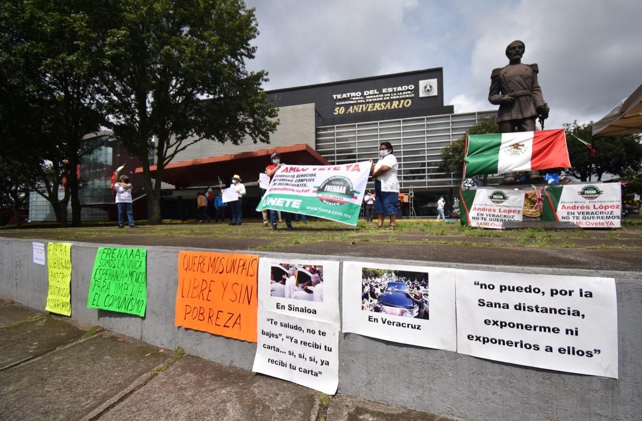 Iglesia y FRENAAA coinciden contra la 4T en Veracruz