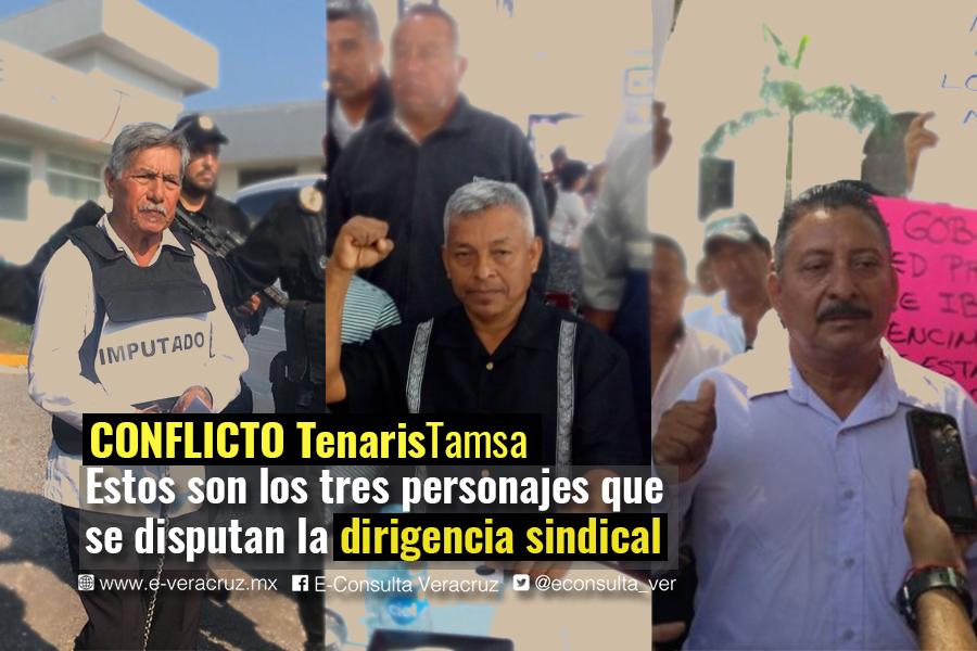 Los 3 líderes que compiten por la dirigencia sindical de Tamsa