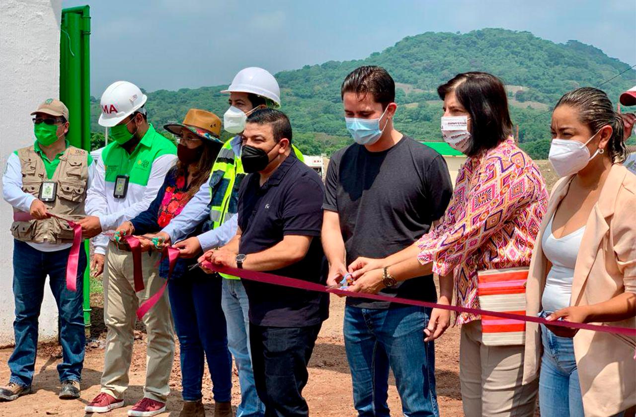 Inauguran relleno sanitario en los Tuxtlas