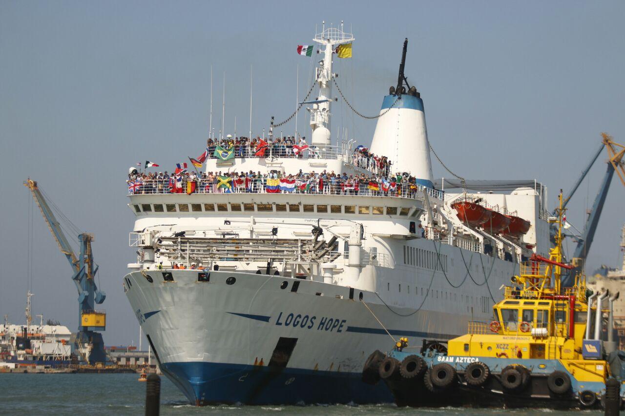 Llega a Veracruz la librería flotante más grande del mundo